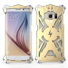Aluminium Logam Thor Kembali Cover Case untuk Samsung Galaxy S7 Edge (Emas)-Intl