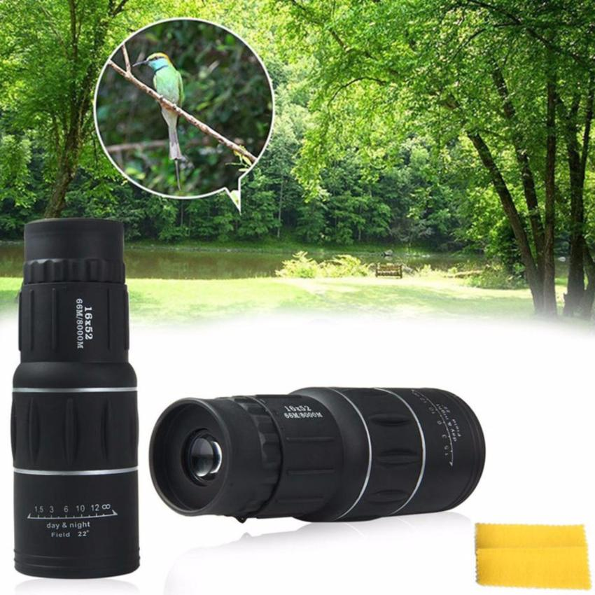 Diskon Besaramart Magic Portable 16X52 Dual Fokus Zoom Optik Lensa 16X Bermata Telescope Intl