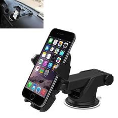 Amart Universal 360 Derajat Rotasi Mobil Tempat Ponsel Otomatis Terkunci Braket Berdiri Kaca Depan Gunung untuk Gps Telepon Seluler-Intl