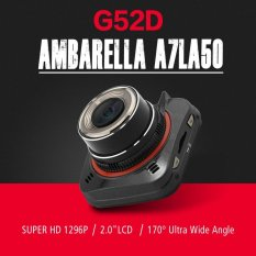 Miliki Segera Ambarella A7La50 Gps Car Dvr Gs52D G52D Mini Car Camera Full Hd 1296 P 170 Derajat Sudut Lebar Dengan G Sensor Adas Gps Dash Cam Intl