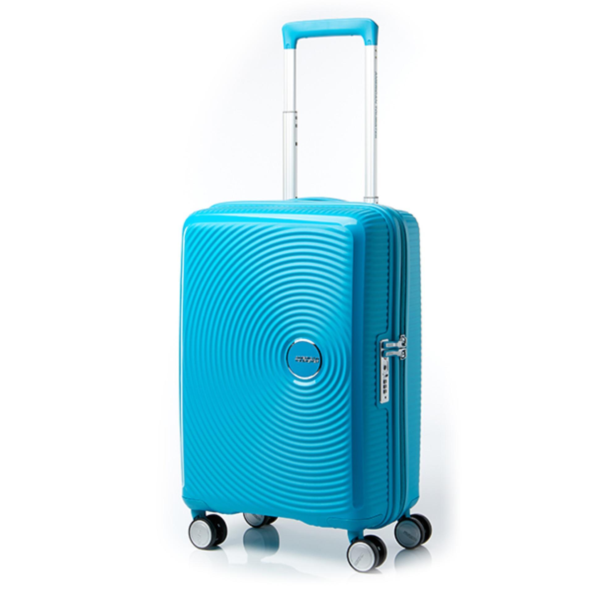 American Tourister Koper Curio Spinner 55 20 TSA Turquoise