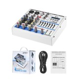 Toko Ammoon Kompak Ukuran 4 Channel Digital Audio Mixer Pencampuran Konsol Built In 48 V Phantom Power Led Display Dengan Usb Antarmuka Dukungan Bt Connection Intl Not Specified Di Tiongkok