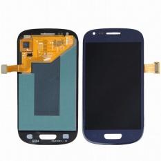 AMOLED Telepon LCD untuk Samsung Galaxy S3 Mini I8190 I8190N I8195 I8200 Layar Sentuh Digitizer Penggantian Kaca-Intl