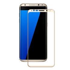 AMORUS untuk Samsung Galaxy S8 Plus Pencetakan Sutra Mobile Pelindung Layar Anti Gores Penutup Lengkap-