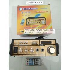 Ampli Bisa AC Dan DC Plus USB Plus FM Radio Dan BLUETOOTH