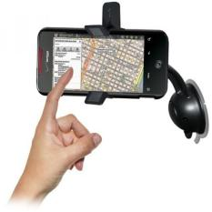 Amzer AMZ93667 Car Mount and Case System for HTC DROID Incredible PB31200 - Retail Packaging - Black