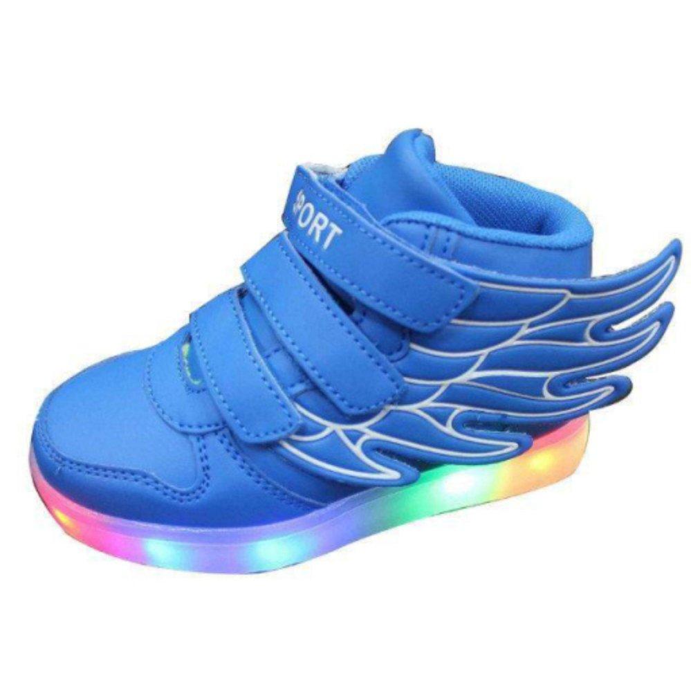 Beli Anak Anak Anak Laki Laki Perempuan Meluncur Sepatu Sayap Sneakers Bercahaya Led Light Up Kids Sneaker Intl Seken