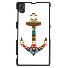 Beli Anchor Pattern Phone Case Untuk Sony Xperia Z1 L39H Hitam Lengkap