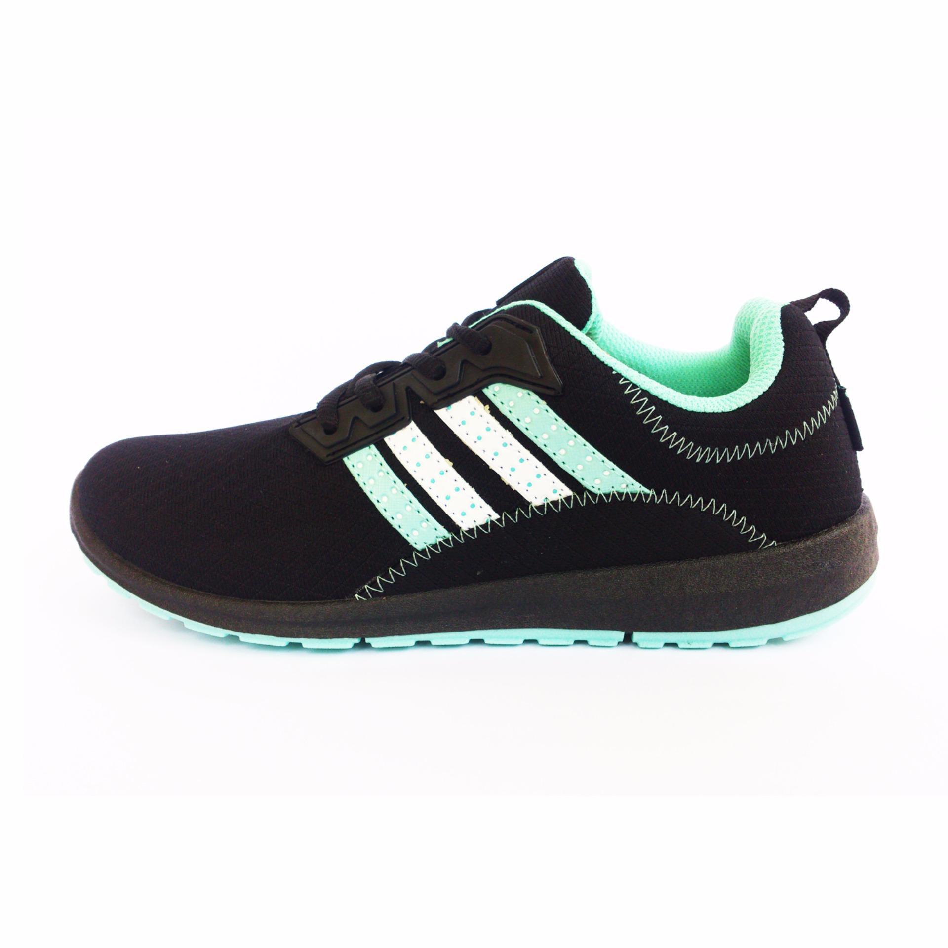 Jual Ando Plano Sepatu Olahraga Wanita Warna Hitam Tosca Local Original