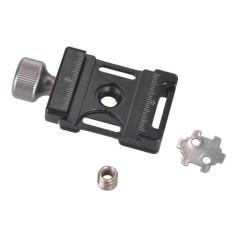 Andoer 38 Mm Aluminium Sekrup Tombol Mini Cepat Melepaskan Penjepit Kompatibel dengan Arca Swiss untuk 38 Mm QR Piring- internasional