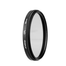 Review Tentang Andoer 58Mm Digital Langsing Kopral Polarizer Polarisasi Melingkar Menggunakan Filter Kaca For Canon Nikon Sony Dslr Lensa Kamera