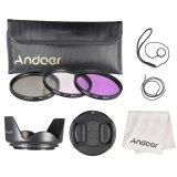 Promo Andoer 58Mm Filter Kit Uv Cpl Fld Andoer Terbaru