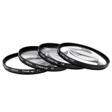 Review Andoer 58Mm Macro Close Up Filter Set 1 2 4 10 With Kantong For Nikon Canon Rebel T5I T4I Eos 1100D 650D 600D Dslr Andoer Di Tiongkok