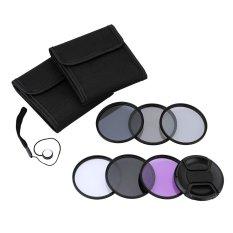 Promo Andoer Filter Lensa Fotografi Kit Set 58Mm Uv Cpl Fld Nd Untuk Kamera Dslr Nikon Canon Sony Pentax Not Specified