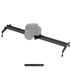 Andoer 60 Cm Video Track Slider Dolly Track Stabilizer Relasi Paduan Aluminium untuk Canon Nikon Sony Kamera Camcorder Max Load Kapasitas 6 KG-Intl