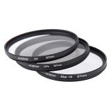 Harga Andoer 67Mm Filter Set Uv Cpl Bintang 8 Poin Kit Filter With Kasus Penutup Untuk Canon Nikon Sony Dslr Lensa Kamera Origin