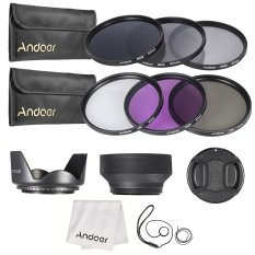 Jual Andoer 67 Mm Menggunakan Filter Lensa Kit Uv Cpl Fld Nd Nd2 Nd4 Nd8 Dengan Membawa Kantong Cap Tutup Lensa Pemegang Tulip Dan Kerudung Kain Pembersih Lensa Karet Lengkap