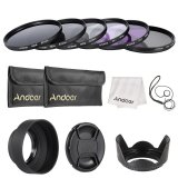 Jual Andoer 67Mm Lensa Filter Kit Uv Cpl Fld Nd Nd2 Nd4 Nd8 Dengan Carry Pouch Lens Cap Lens Cap Holder Tulip Lens Hood Kain Pembersih Outdoorfree Lengkap