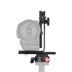 Andoer 720 Derajat Kepala Panorama Termasuk Putar 360 Derajat Panorama Pengindeksan Rotator + 2 Cara Rel Penggeser + L Bracket Perlengkapan untuk Canon Nikon sony DSLR Ildc Kamera Max. kapasitas Beban 3Kg-Intl