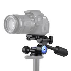 Andoer A-40 3 Cara Kamera Video Kepala Aluminium Aloi 360� Panorama Fotografi Pelembab Kepala untuk Perkakas Bertualang untuk Tripod Monopod Slider Max. beban 5Kg/11Lbs-Intl