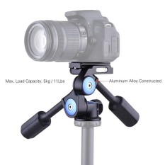 Review Pada Andoer A 60 Dual Handle 360 Derajat Kamera Video Kepala Fotografi Aluminium Paduan 3 Way Panoramic Damping Head Max Beban 5 Kg 11Lb Intl