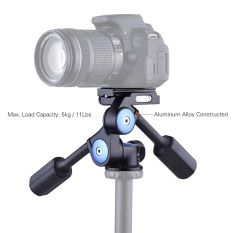 Spesifikasi Andoer A 60 Dual Handle 360 Derajat Kamera Video Kepala Fotografi Aluminium Paduan 3 Way Panoramic Damping Head Max Beban 5 Kg 11Lbs Untuk Canon Nikon Sony Kamera Camcorder Untuk Tripod Monopod Slider Intl Yang Bagus Dan Murah
