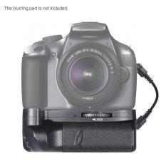 Andoer BG-1H pegangan vertikal kompatibel dengan 2 * LP-E10 untuk Canon EOS 1100D 1200D 1300D / Rebel T3 T5 T6 / kiss X50 X70 Kamera DSLR
