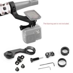 Andoer Bike Mount Holder Handle Bar Komputer Mount Kit 25.4mm/31.8mm untuk CATEYE CC-PA100W/500B CC-RD310W /410DW/420DW/430DW/500B CC-VT210W/220 W CC-MC200W CC-GL11/51 CC-PD100W untuk GoPro/ Sony/Garmin VIRB X & XE untuk SJ Cam Kamera Aksi Hitam-Intl