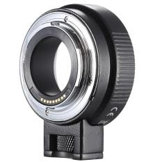 Andoer EF-EOSM Lensa Dudukan Adaptor Dukungan Oto-paparan Otomatis Fokus dan Auto-bukaan untuk Canon EF/ EF-S Seri Lensa untuk EOS M EF-M M2 M3 M10 Tubuh Gambar Kamera Dukungan Stabilitas-Internasional
