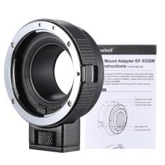 Andoer EF-EOSM Lens Mount Adapter Dukungan Auto-Exposure Auto-Focus dan Auto-Aperture untuk Canon EF/ EF-S Series Lens Ke EOS M EF-M M2 M3 M10 Dukungan Bodi Kamera Stabilitas Gambar-Intl