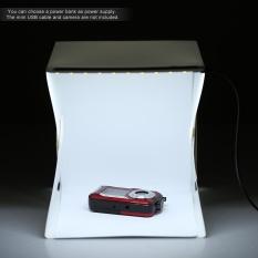 Andoer Lipat Lipat Portabel Mini Fotografi Lightbox Studio untuk Iphone Samsung LG HTC Smartphone Digital atau DSLR Kamera-Internasional