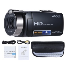 Beli Andoer Hdv 312P 1080P Full Hd Digital Video Camera Portable Home Use Dv With 2 7 Inch Rotating Lcd Screen Max 20 Mega Pixels 16� Digital Zoom Intl Baru