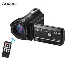Beli Andoer Hdv D395 Digital Kamera Video Dv Wifi 1080 P 30Fps Fhd 24 M 18X Zoom Camcorder Dengan Remote Control Ir Inframerah Night Vision Light 3 Layar Sentuh Dukungan Face Detect Anti Shake Intl Cicil