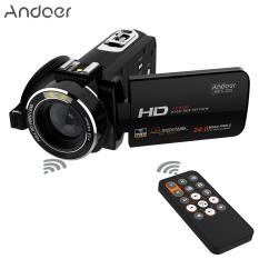 Andoer HDV-Z20 Portabel 1080 P HD Penuh Kamera Video Digital Max 24 Megapiksel 16X Digital Camcorder Menderu 3.0 Inci LCD Layar Sentuhdengan Remote Mengendalikan Diputar Dukungan Koneksi WiFi Unikdesain Sepatu Panas Outdoorfree