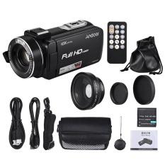 Andoer HDV-Z82 1080 P Full HD 24MP Digital Video Kamera Camcorder dengan 0.45X Wide Angle Lens 3