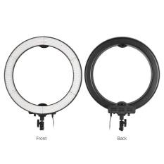 Andoer LA-650D 5500 K 40 W Lingkaran Digital Photographic Studio Ringan dengan 600 Lampu Stepless Penyesuaian W/Kain Lembut dan Tas-Internasional