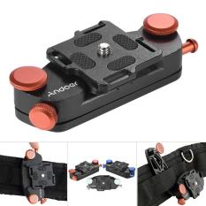 Diskon Produk Andoer Logam Pinggang Kamera Pelepas Cepat Belt Strap Buckle Tombol Mount Klip Untuk Canon Nikon Sony Dslr Kamera Max Kapasitas Beban 20 Kg Outdoorfree Intl