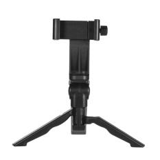 Andoer Mini Tabletop Tripod Berdiri Genggam Pegangan Stabilizer dengan Universal Smartphone Clip Holder Bracket untuk Digital Kamera untuk IPhone 7 Plus/7/6/6 Plus/6 S-Intl