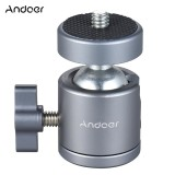 Berapa Harga Andoer Mini Tripod Metal Ball Head Adapter Ballhead Mount With 1 4 Scr*w 1 4 Scr*w Hole Intl Andoer Di Tiongkok