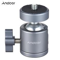 Toko Andoer Mini Tripod Metal Ball Head Adapter Ballhead Mount With 1 4 Scr*w 1 4 Scr*w Hole Intl Termurah Di Tiongkok