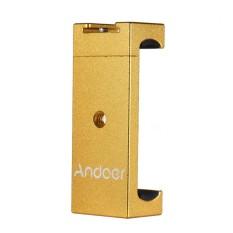 Andoer tripod Ponsel Mount Adaptor Bracket Holder Clip dengan Sepatu Dingin untuk IPhone X 8 7 6 S 6 5 Plus untuk Samsung Sony Smartphone-Intl