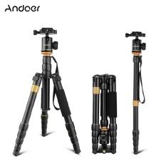 Andoer Profesional Dilipat Dapat Dilepas Fotografi Kamera Digital Perekam Video Tripod Monopod Bola Kepala untuk Canon Nikon Sony Panasonic DSLR -Internasional