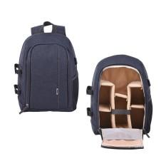 Andoer Shockproof Backpack Outdoor Photography Travel Tas Kamera dengan Tripod Holder untuk Canon Nikon Sony A7RII A7II A7SII A7R A7S A7 DSLR Kamera Tanpa Cermin-Intl