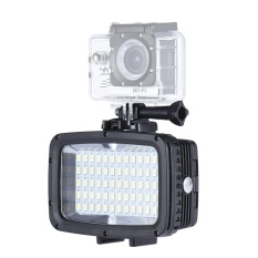 Andoer Ultra Bright 1800LM 3 Modes Waterproof Underwater 40m 5500K 60pcs LED Diving Fill-in Light Video Studio Photo Lamp for GoPro Hero Xiaomi Yi SJCAM Action Cam & for Canon Nikon Sony DSLR Camera w/ Hot Shoe Mount + 3 * Filter - intl