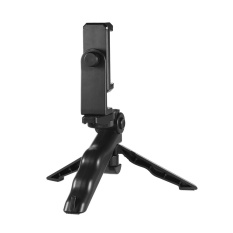 Universal Mini Telepon Tripod Berdiri Genggam Pegangan Penstabil dengan Dapat Disesuaikan Smartphone Klip Penahan Braket untuk iPhone 7 Plus/ 7/6/6 Plus/6 S untuk Samsung Galaksi S7/S6-Internasional