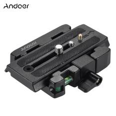 Jual Andoer Tripod Kamera Video Rilis Cepat Penjepit Adaptor Dengan Cepat Melepaskan Piring Kompatibel Untuk Manfrotto 501 500Ah 701Hdv 503Hdv Q5 Kepala Andoer