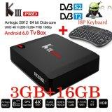 Toko Android 6 Kiii Pro Dvb I8 Backlit S912 Combo Tv Box 3G 16 Gb Dvb S2 T2 4 K Penerima Satelit K3 Pro Intl Unbrand Di Tiongkok