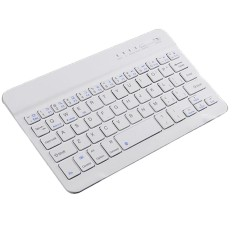 Android/iOS/Windows Bluetooth Ultra-Slim untuk IOS Android Windows PC Tablet-Putih-Intl
