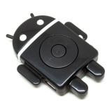 Toko Android Robot Mp3 Player Tf Card With Small Clip Hitam Universal