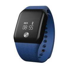 Android Smart Watch GT08 jam perangkat dpt dipakai dengan Slot kartu Sim telepon tekan Bluetooth DZ09 jam pintar untuk Apple Watch iphone hitam